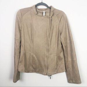 Miilla | Faux Suede Tan Jacket